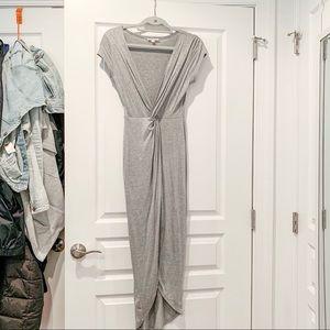 T-SHIRT Slit body con dress